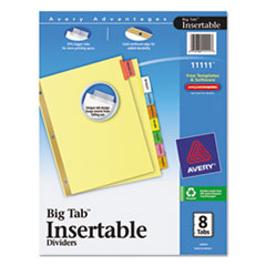 AVE11111 - Avery® WorkSaver® Big Tab™ Paper Dividers