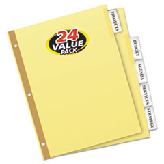 AVE11113 - Avery® Double Sided Reinforced WorkSaver® Big Tab™ Insertable Paper Dividers