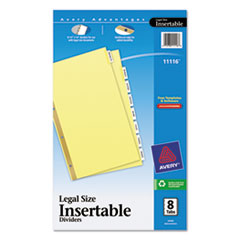 AVE11116 - Avery® WorkSaver® Insertable Tab Dividers