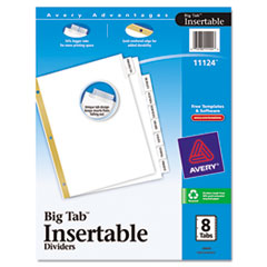 AVE11124 - Avery® WorkSaver® Big Tab™ Paper Dividers