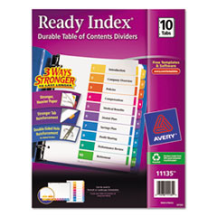 AVE11135 - Avery® Ready Index® Contemporary Multicolor Table of Contents Dividers
