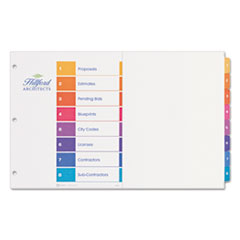 AVE11148 - Avery® Ready Index® Table of Contents Dividers with Multicolor Tabs