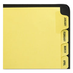 AVE11307 - Avery® Printed Laminated Tab Dividers with Gold Reinforced Binding Edge