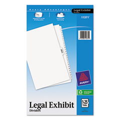 AVE11371 - Avery® Premium Collated Legal Dividers Side Tab