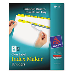 AVE11414 - Avery® Index Maker® Label Dividers