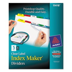 AVE11418 - Avery® Index Maker® Label Dividers