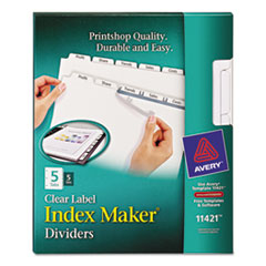 AVE11421 - Avery® Index Maker® Label Dividers