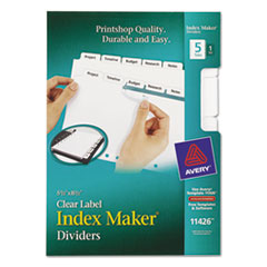 AVE11426 - Avery® Index Maker® Label Dividers