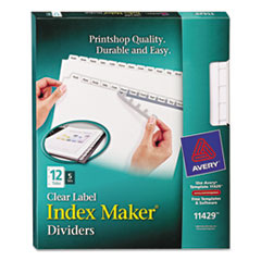 AVE11429 - Avery® Index Maker® Label Dividers
