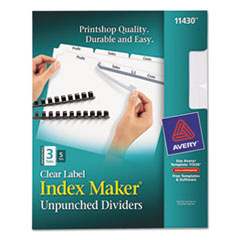 AVE11430 - Avery® Index Maker® Label Dividers