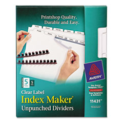 AVE11431 - Avery® Index Maker® Label Dividers