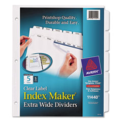 AVE11440 - Avery® Index Maker® Extra-Wide Label Dividers