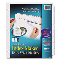 AVE11441 - Avery® Index Maker® Extra-Wide Label Dividers