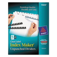 AVE11443 - Avery® Index Maker® Label Dividers