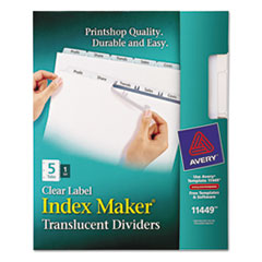 AVE11449 - Avery® Index Maker® Label Dividers