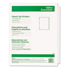 AVE11468 - Avery® Office Essentials™ Insertable Tab Index Divider Set