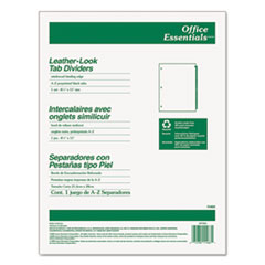 AVE11483 - Avery® Office Essentials™ Printed Tab Index Divider Set