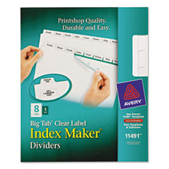 AVE11491 - Avery® Big Tab™ Index Maker®