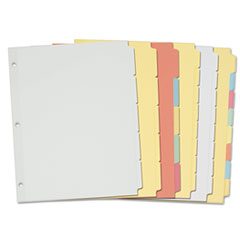 AVE11501 - Avery® Write-On Plain Tab Dividers