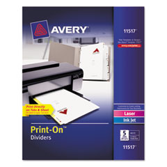 AVE11517 - Avery® Print-On™ Dividers