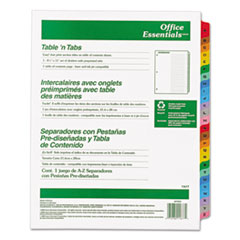 AVE11677 - Avery® Office Essentials™ Table N Tabs™ Dividers