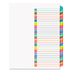 AVE11846 - Avery® Ready Index® Customizable Table of Contents Multicolor Dividers