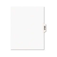 AVE11910 - Avery® Premium Collated Legal Dividers Side Tab