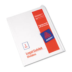 AVE11959 - Avery® Standard Collated Legal Dividers Letter Size