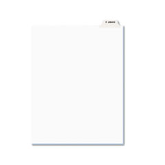 AVE12394 - Avery® Individual Legal Dividers Bottom Tab