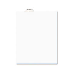 AVE12397 - Avery® Individual Legal Dividers Bottom Tab