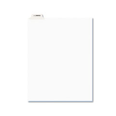 AVE12398 - Avery® Individual Legal Dividers Bottom Tab
