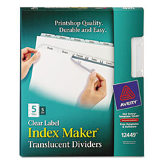 AVE12449 - Avery® Index Maker® Label Dividers