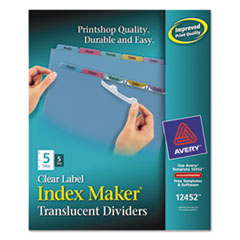 AVE12452 - Avery® Index Maker® Label Dividers
