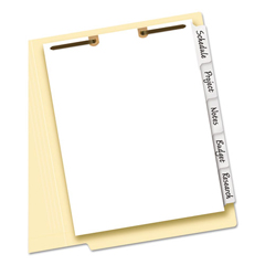 AVE13160 - Avery® Write Erase Tab Dividers for Classification Folders
