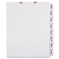 AVE13161 - Avery® Write & Erase Tab Dividers for Classification Folders