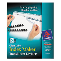 AVE16062 - Avery® Index Maker® Unpunched Label Dividers