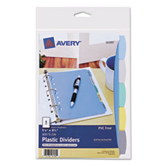 AVE16180 - Avery® Translucent Durable Write-On Reference Index Dividers