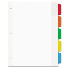 AVE16750 - Avery® Dividers with Movable Tabs