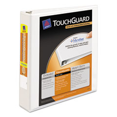 AVE17142 - Avery® Touchguard® Antimicrobial View Binder with Slant Rings