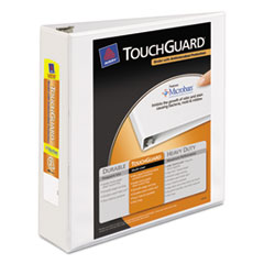 AVE17143 - Avery® Touchguard® Antimicrobial View Binder with Slant Rings