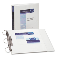AVE17590 - Avery® FlipBack™ 360° Durable View Binder with Round Rings