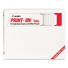 AVE20416 - Avery® Print-On™ Tabs for High-Speed Copiers