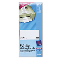 AVE2163 - Avery® Mini-Sheets® Mailing Labels