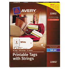 AVE22802 - Avery® Printable Tags with Strings