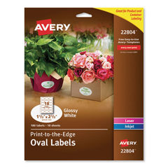 AVE22804 - Avery® Unique Shapes, Sizes and Textured Labels