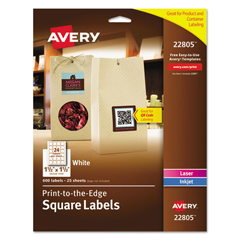 AVE22805 - Avery® Print-to-the-Edge Labels with TrueBlock™ Technology