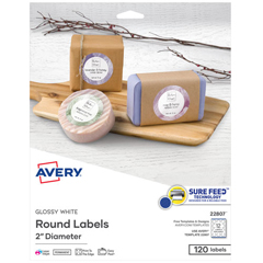 AVE22807 - Avery® Unique Shapes, Sizes and Textured Labels