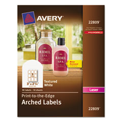 AVE22809 - Avery® Unique Shapes, Sizes and Textured Labels