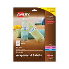 AVE22845 - Avery® Durable Wraparound Labels
