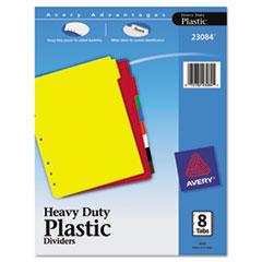 AVE23084 - Avery® Heavy Duty Plastic Dividers